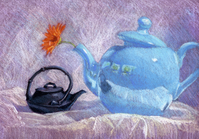 Teapot Conversations #1: A Zinnia For You